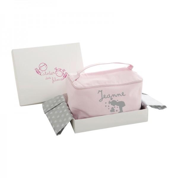 coffret cadeau de naissance pour b 233 b 233 trousse de toilette 224 personnaliser p 226 le