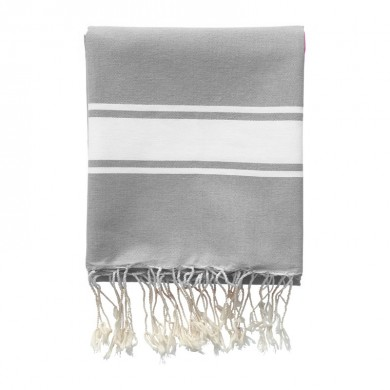 Fouta personnalisable  FRED – Gris
