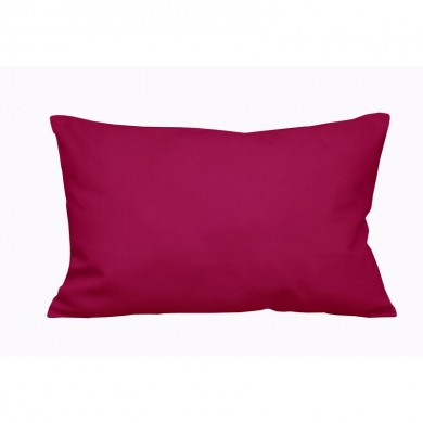 Coussin rectangulaire à personnaliser GUSTAVE – Rose fushia