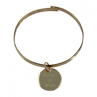 Bracelet jonc à personnaliser - Eloïse