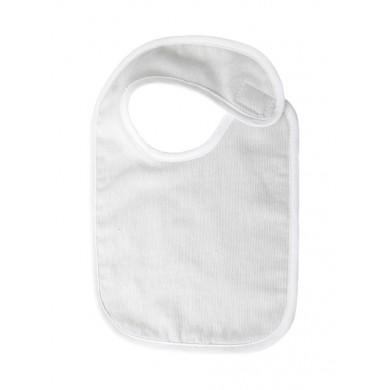 Bavoir bébé personnalisable ARTHUR - taille unique – gris perle