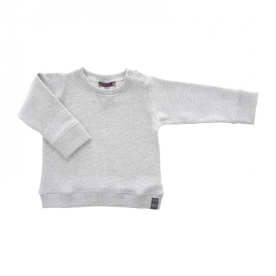 Sweat bébé ARSENE – gris chiné