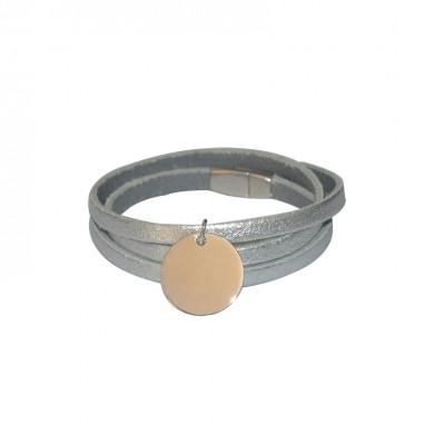 Bracelet à personnaliser en cuir- Jenny