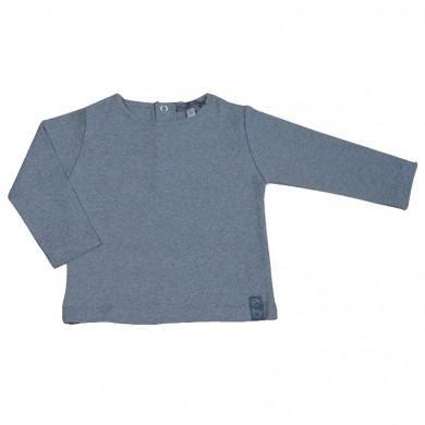T shirt bébé JEAN – gris chiné
