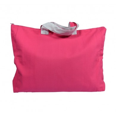 Sac week end personnalisable - MATEO - taille unique – rose fushia