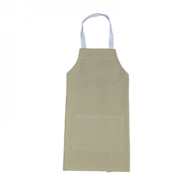 Tablier de cuisine personnalisable MARIE 4/6 ans et 8/10 ans – beige