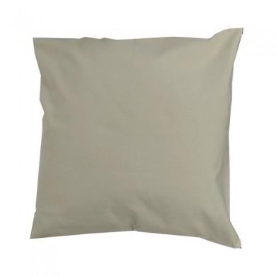 Coussin carré à personnaliser - CAPUCINE - taille unique – beige