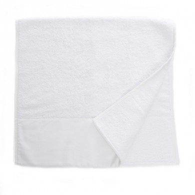 Serviette de toilette éponge Victoire– blanche