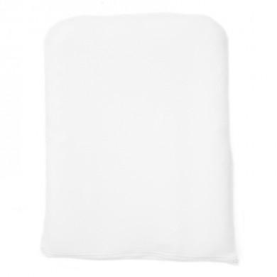 Housse de matelas à langer Mahault– blanc