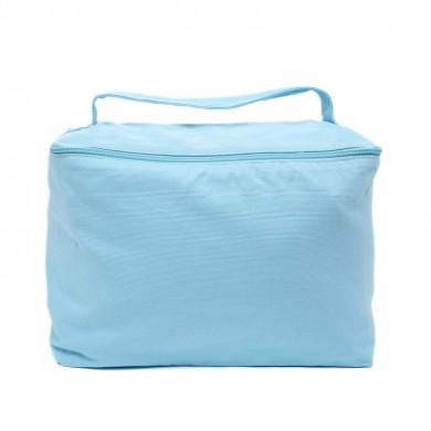 Trousse de toilette vanity à personnaliser  TESS – bleu ciel