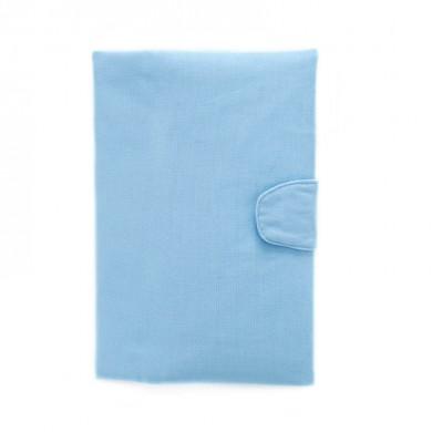 Protege-carnet de santé personnalisé - ANTONIN – bleu ciel
