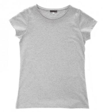 T shirt femme LOUISE  – gris chiné
