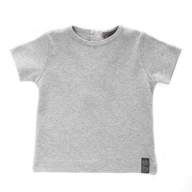 T shirt bébé personnalisable EUGENIE – gris chiné