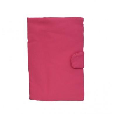 Protege-carnet de santé personnalisé  ANTONIN – TU – rose fushia