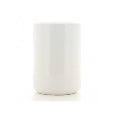 Pot / Vase à personnaliser LEON - blanc