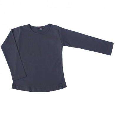T shirt femme manches longues SIXTINE ADULTE  – gris