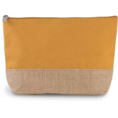 Grande pochette personnalisable OLIVIA – jaune