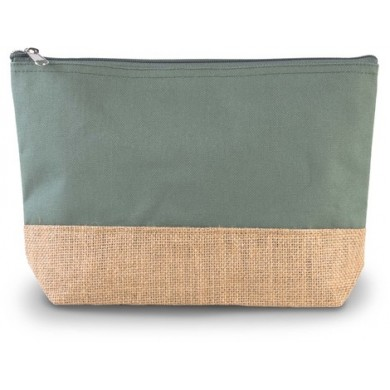 Grande pochette personnalisable OLIVIA – vert olive