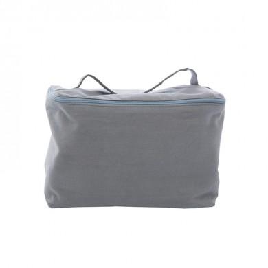Trousse de toilette vanity à personnaliser  TESS – gris