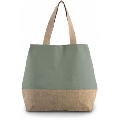 Sac fourre-tout personnalisable OLIVIA – vert olive