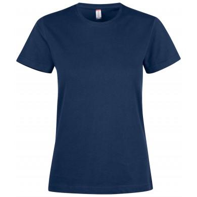 T-Shirt Femme Clique - Bleu Navy