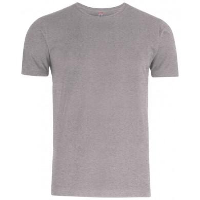 T-Shirt Homme Clique - Gris Chiné
