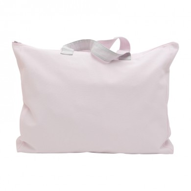 Sac week end personnalisable - MATEO - taille unique – rose pâle