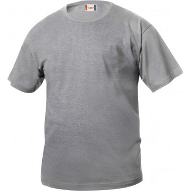 T-Shirt Enfant Clique - Gris Chiné