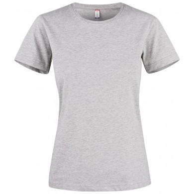 T-Shirt Femme Clique - Gris Chiné