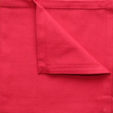 Serviette de table - Rouge