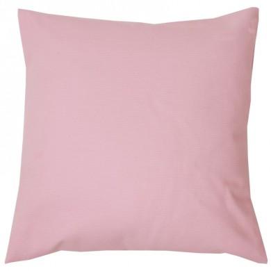 Coussin carré à personnaliser CAPUCINE - taille unique – rose pâle