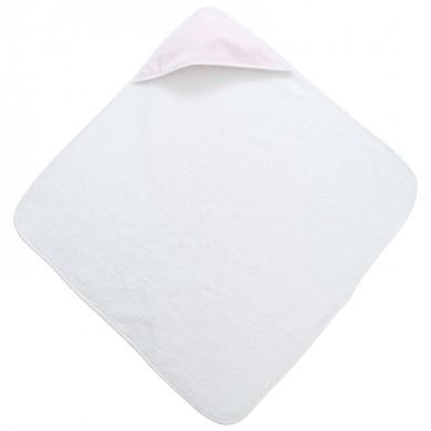 Cape de bain personnalisable  JEANNE– rose pâle