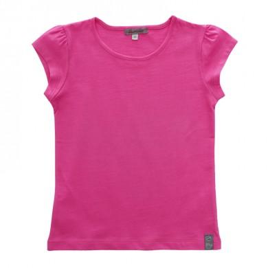 T shirt en coton bio à personnaliser MADELEINE – rose fushia